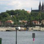 Blick auf die St. Peter und Paul Kirche in Prag